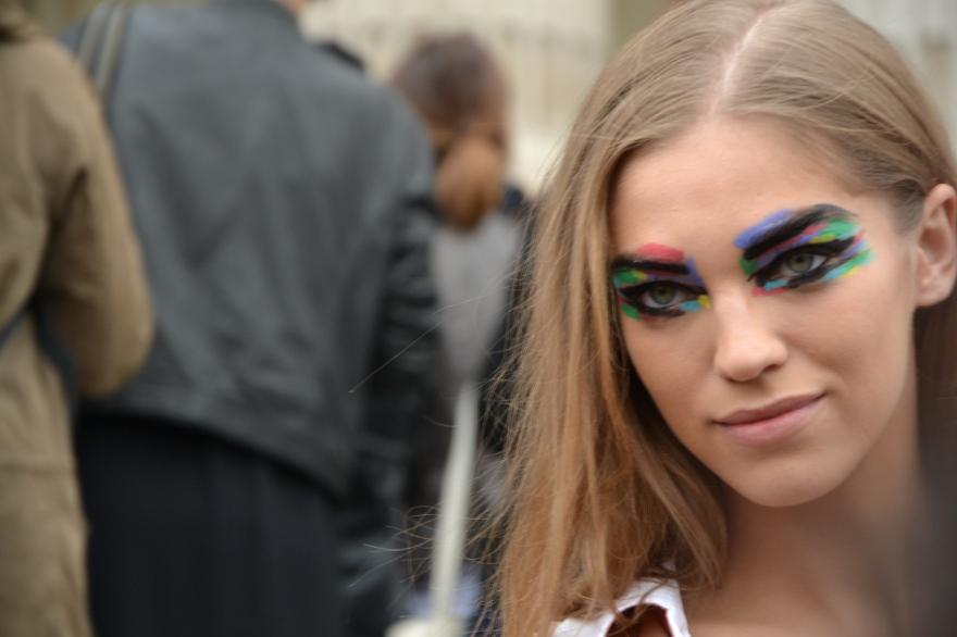 Maquillage yeux défilé Chanel Printemps-Eté 2014