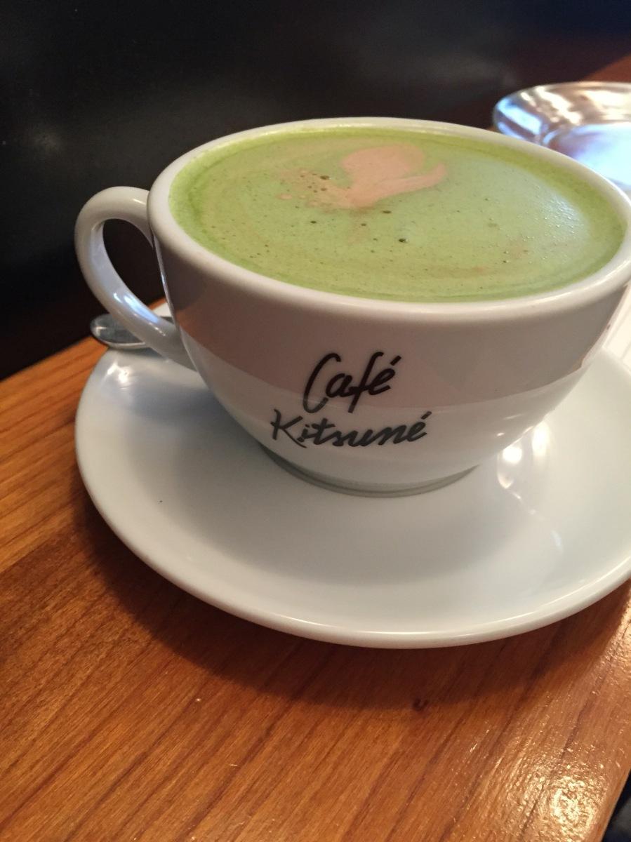 Le Café Kitsuné, chocolat matcha, la bonne adresse de la semaine